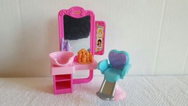 Fisher-Price Loving Family Dollhouse Beauty Shop Set Good Condition Ship... - $11.99
