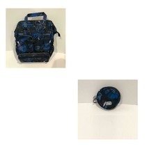 LUG BOTANICAL BLACK VIA 2 BACKPACK TOTE  3 IN 1 & COIN POUCH, FREE SHIPP... - $99.00