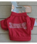 BRAND NEW NEVER USED Paws-n-Claws Studded Knit Shirt for Dogs, Size Extr... - $5.93