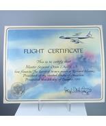 Air Force One Pilot Spirit Of 76 Flight Certificate Richard Nixon Era 1971 - $102.85