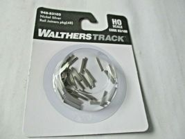 Walthers Track # 948-83102 Nickel Silver Rail Joiners Package of (48) HO Scale image 3