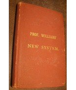 1877 Prof Williams New System Handling Training Horses Antique Book Vete... - $34.64