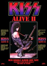 KISS Paul Stanley ALIVE II Album Promo Stand-Up Display - Rock Band Musi... - $15.99