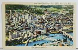 MN Milling District & Heart of City Minneapolis City of Lakes Parks Post... - $8.95