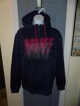 Nike Club Swoosh Full-Zip Hoodie Style: 679365-410 Size M Men's EUC - $36.00