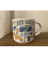 """Starbucks """"NORTH CAROLINA"""", Been There series, 14oz mug cup EXCELLENT co... - $24.74"""