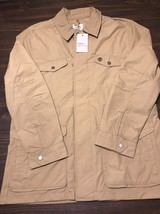 Timberland Men's Mount Webster Waterproof British Khaki Field Jacket L N... - $110.32