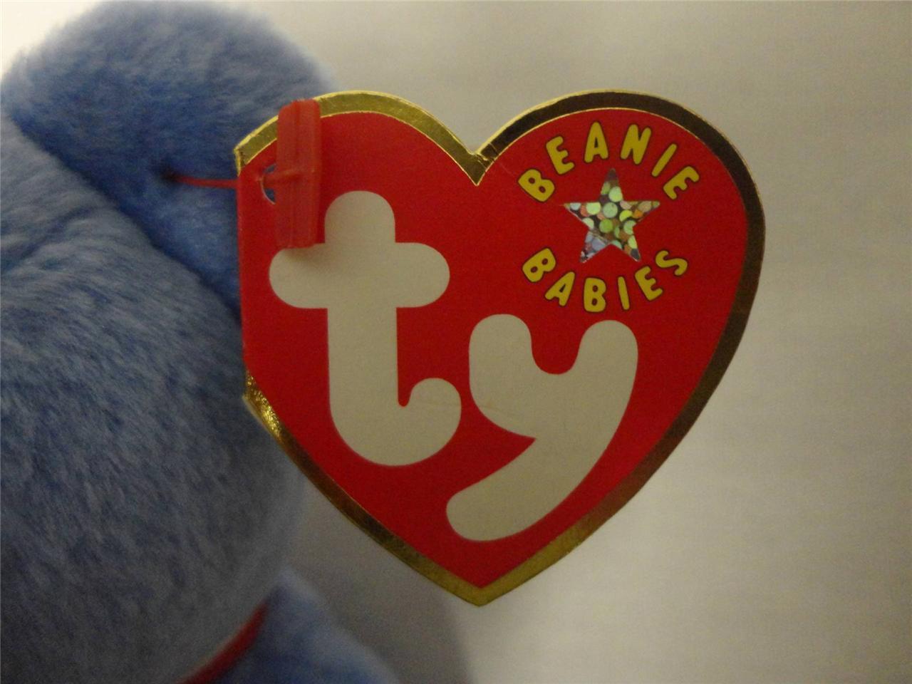 TY Beanie Babies America Bear September 11 2001 Osito Mexico Bear 1999 Lot of 2
