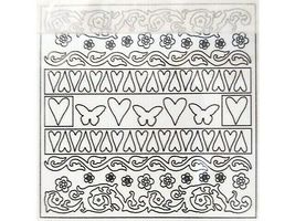 Creative Imaginations Blank Chipboard Shapes Felicity Collection, 144 Pieces image 3