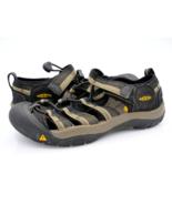 Keen Unisex Kids 3 Black Newport H2 Athletic Drawstring Hiking Sport Sho... - $26.99