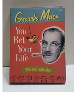 You Bet Your Life The Best Episodes. DVD 3 disc Box Set - $12.00