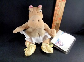 Disney Store HIPPO Fantasia Dancing Hippopotamus Plush Stuffed Toy Doll ... - $11.57