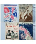Vintage Sheet Music From Musical Productions Lot of 4 Songs Collectible - $22.31