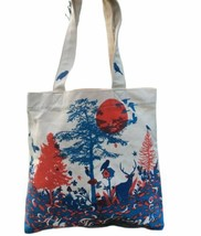 Tote Bag The Outfit Artist Series Organic Nature Birds Friends Upcycle A... - $16.82