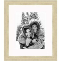 Frames by Mail Gold Champaign Picture Frame 16X20 with White mat - $69.69