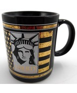 Statue of Liberty Centennial 1886- 1986 Coffee Mug Keep The Torch Lit Bl... - $5.93