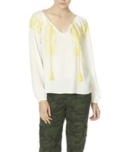 New With Tags Sanctuary Sunflower Peasant Top - $32.43 CAD