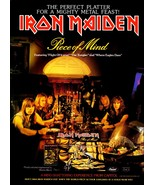 "Iron Maiden Rock Band ""Piece Of Mind"" Album Promo Reproduction Stand-Up ... - $14.99"