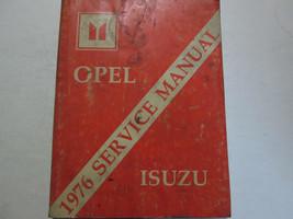 1976 Opel Isuzu Service Shop Repair Manual Book Factory OEM Used Wear - $13.80
