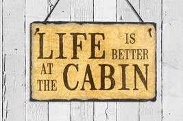 Cabin Sign. Cabin Decor. Outdoor Sign. Family N... - $36.95