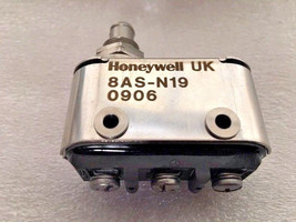 Honeywell Micro Limit Switch 8AS-N19 - New - $64.45