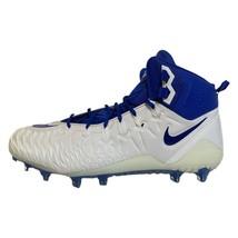 Nike Force Savage Pro Elite TD Football Cleats Blue White AJ6605-106 Siz... - $59.39