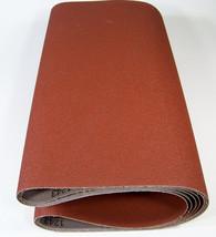 """2pc 18"""" x 44-1/2"""" P 50 GRIT SANDING BELT / ROLL Made USA Butt Joint A/O ... - $31.99"""
