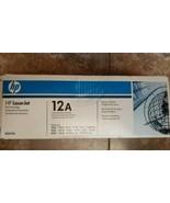 HP LaserJet 12A Toner Cartridge Q2612A Black - Genuine Brand New, Sealed - $37.05
