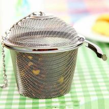Arshen Tea Infusers Chained Lid Stainless Steel Mesh Ball Filter Strainer Tools image 6