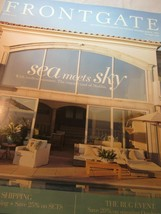 Frontgate Catalog June 2016 Sea Meets Sky with Endless Summer Coastal Co... - $9.99