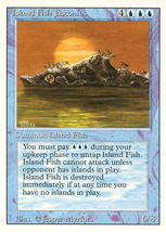 Magic: The Gathering 3rd Edition - Island Fish Jasconius - $0.25