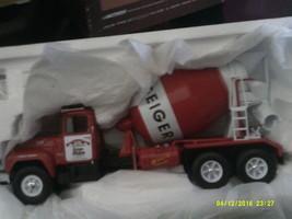 First Gear Geiger Ready Mix  Mack R Cement Mixer Truck 1:34  19-2604-FREE SHIP - $50.00