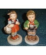 Lot of 2 Schmid Christmas Ornaments Hummel Hark The Herald & Sweetheart ... - $8.72