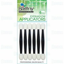 Brittny Eyeshadow Applicators Double Eye Makeup Cosmetic Tools 6Pcs/Pk B... - $4.90