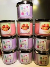 10x Total Bath Body Works Lavender Marshmallow Sorbet 3 Wick Large Candle 14.5oz - $197.90