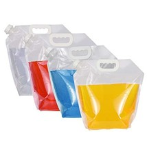AMbs Collapsible Water Tank Container 4 Pack 5L BPA Free Plastic Water C... - $318,93 MXN