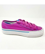 PF Flyers Center Lo Reiss Pink Purple Kids Size 2 Casual Shoes PK11OL3P[2] - $39.95