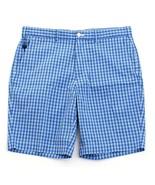 Polo Golf Ralph Lauren Blue Plaid Classic Fit Shorts Men's NWT - $74.99