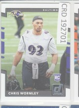 2017 Panini Donruss Chris Wormley Baltimore Raiders #393  192701 - $1.86