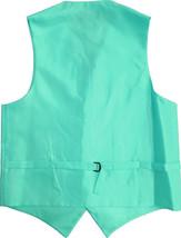 Men's Mint Adjustable Button Up Dress Vest for A Suit or Tuxedo 2XL w/ Defect image 2