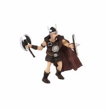 Vikings Action Figure Halldor Raider Toy Vintage Collectible Gift Kids B... - $19.99