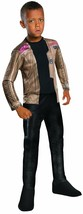 Finn Star Wars The Force Awakens Boys Halloween Costume Large 12-14 Rubies NWT - £9.87 GBP