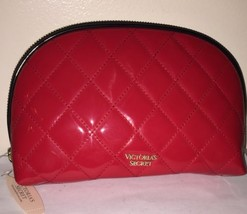 VICTORIA SECRET Very Sexy Large Quilted Makeup Cosmetic Case~RED~New Wit... - $22.08