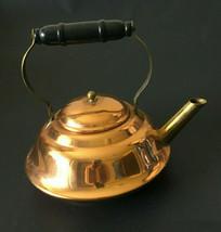 Vintage Copper Tea Kettle Coppercraft Guild Taunton Massachusettes - $24.74