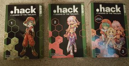 .hack Legend of the Twilight Manga Volume 1-3 C... - $12.99