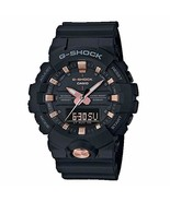 Casio G-Shock GA810B-1A4  Mens Digital/Analog Black/Rose Gold  54x48mm W... - $81.34