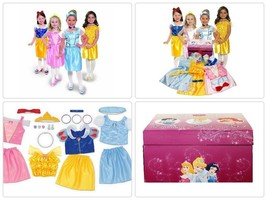 Disney Princess Dress Up Trunk Kids Christmas Gift Toys For Childrens Ac... - $47.34