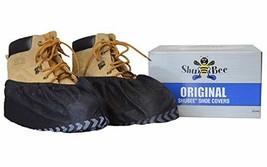 ShuBee Original Shoe Covers, Black 50 Pair