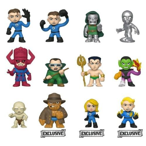 New FANTASTIC FOUR Mystery Minis BOBBLEHEAD Figure FUNKO 2019 Target Exclusive ! - $9.40