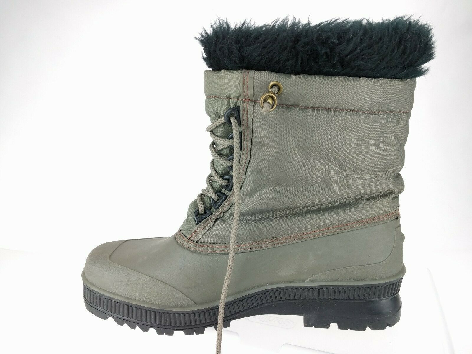 Primary image for SOREL Gray Snowflake Embroider Women's Winter Snow Lined Waterproof Boots Size 9